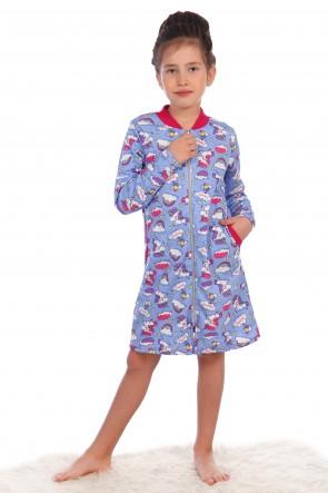 ee9407fc4d11d Купить детские халаты для девочек оптом в Иваново, ТМ Егорка
